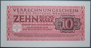 R/ GERMANIA 10 REICHSMARK 1944 FDS