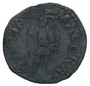 R/ STATO PONTIFICIO GREGORIO XIII 1572-1585 QUATTRINO MACERATA 0,55 GR. qBB