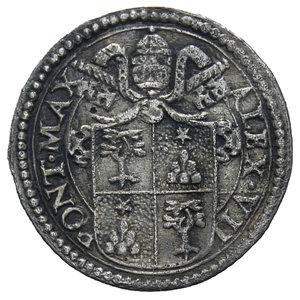 D/ STATO PONTIFICIO ALESSANDRO VII 1655-1667 MEZZO GROSSO AG. 0,72 GR. BB