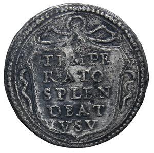R/ STATO PONTIFICIO ALESSANDRO VII 1655-1667 MEZZO GROSSO AG. 0,72 GR. BB