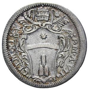 D/ STATO PONTIFICIO CLEMENTE XI 1700-1721 GROSSO AG. 1,52 GR. BB