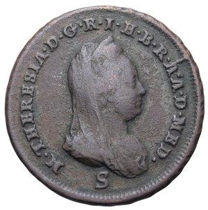 D/ GORIZIA MARIA TERESA 1 SOLDO 1777 S 7,44 GR. BB