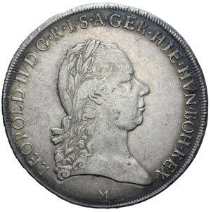 D/ MILANO LEOPOLDO II CROCIONE 1792 AG. 29,46 GR. BB