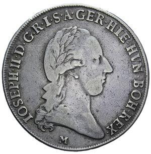 D/ MILANO GIUSEPPE II 1/2 CROCIONE 1787 AG. 14,59 GR. qBB
