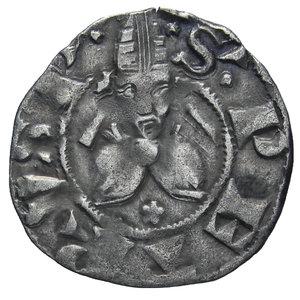 R/ ROMA MONETAZIONE ANONIMA 1370-1377 BOLOGNINO AG. 1,14 GR. BB+