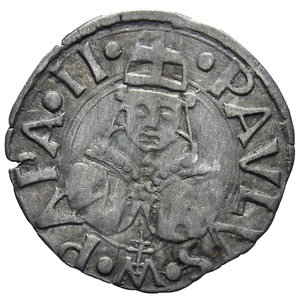 D/ ROMA PAOLO II 1464-1471 BOLOGNINO AG. 0,53 GR. BB
