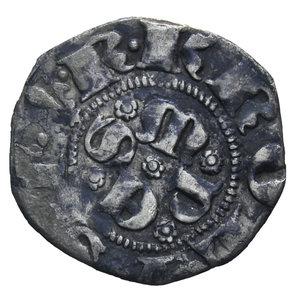 D/ SULMONA CARLO DI DURAZZO 1382-1385 BOLOGNINO AG. 0,69 GR. BB