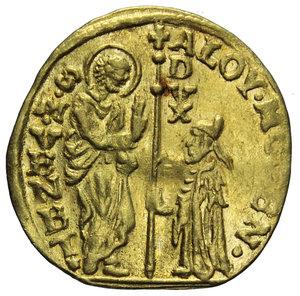 D/ VENEZIA ALVISE IV MOCENIGO 1763-1778 ZECCHINO AU 3,35 GR. SPL-FDC