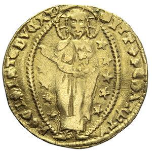 R/ VENEZIA TOMMASO MOCENIGO 1414-1423 ZECCHINO AU 3,48 GR. qBB (APPICCAGNOLO RIMOSSO)