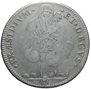 D/ GOVERNO POPOLARE DI BOLOGNA SCUDO 10 PAOLI 1796 BOLOGNA NC AG.28,58 GR. MB-BB