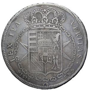 R/ GRANDUCATO DI TOSCANA FERDINANDO III FRANCESCONE 1799 AG. 27,05 GR. MB/qBB