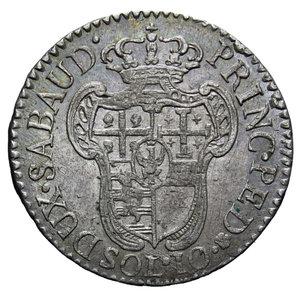 reverse: VITT. AMEDEO III 10 SOLDI 1796 2,67 GR. BB-SPL