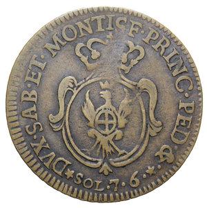 reverse: VITT. AMEDEO III 7,6 SOLDI 1785 R 3,97 GR. BB+
