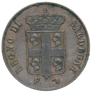 obverse: CARLO ALBERTO 5 CENT. 1842 TORINO R 5,20 GR. BB-SPL (CORROSIONI)