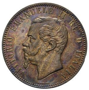 obverse: VITT. EMANUELE II 10 CENT. 1866 BIRMINGHAM 9,73 GR. SPL+