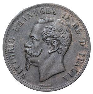 obverse: VITT. EMANUELE II 10 CENT. 1867 TORINO 9,98 GR.  BB-SPL