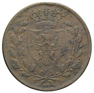 obverse: VITT. EMANUELE II 5 CENT. 1826 BOLOGNA 10,16 GR. BB