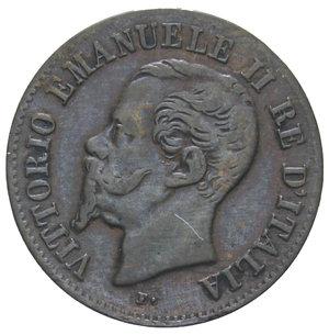 obverse: VITT. EMANUELE II 2 CENT. 1861 NAPOLI R 2 GR. BB/BB+