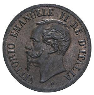 obverse: VITT. EMANUELE II 1 CENT. 1861 NAPOLI R 1 GR. FDC