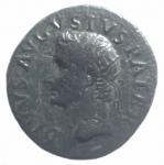 obverse: Impero Romano. Augusto 27 a.C. - 14 d.C. Asse. D/ Testa di Augusto verso sinistra DIVVS AVGVSTVS PATER. R/ PROVIDENT Altare tra SC. Peso 10,88 g. Diametro 29,00 mm. RIC.81 ( Tiberio). qSPL.#