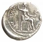 reverse: Impero Romano.Tiberio 14-37 d.C. Denario .D\Testa di Tiberio a destra .R\ Livia seduta a destra .Peso 3,87 gr. RIC 3 pag. 103 RIC 3.BB