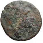obverse: Mondo Greco - Apulia. Salapia. ca. 225-210 a.C.AE 21,4 mm. D/ Testa di Apollo a destra R/ Cavallo a destra, sopra tridente. HN (Italy) 692. Peso 7,15 gr. Diametro 21,5 mm.qBB.
