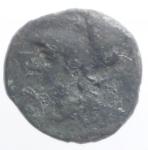 reverse: Mondo Greco. Bruttium. I Brettii, ca. 215-210 a.C. Obolo. AE. D/ Testa di Atena a sinistra indossa elmo corinzio. R/ BPETT-IΩN, civetta a destra. HNItaly 1945; SNG ANS 69. Peso 2,18 gr. Diametro 14,00 mm. >BB. Patina. R.°°°