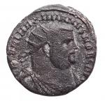 D/ Impero Romano - Massimiano (286-310).Antoniniano. Alessandria.AE.g 3,02.mm 19,8 x 20,4. qBB