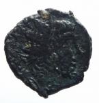D/ Barbari.Imitativa degli imperatori Romano Gallici.Ae.D\testa radiata verso destra R\Divinità femminile tra due ramoscelli.Peso 2,00 gr,Diametro 13,00 mm.qBB