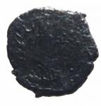 R/ Barbari.Imitativa degli imperatori Romano Gallici.Ae.D\testa radiata verso destra R\Divinità femminile tra due ramoscelli.Peso 2,00 gr,Diametro 13,00 mm.qBB