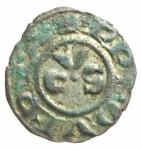 obverse: Zecche Italiane. Ancona. Denaro. Sec. XIII. Peso 0,70 gr. Diametro 16,55 mm. BB