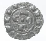 obverse: Zecche Italiane. Brindisi. Corrado I. 1250-1254.Mezzo Denaro. Mi. Mir. 301. Peso. gr. 0,63. Diametro mm. 16.RRRSPL.___