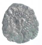 obverse: Zecche Italiane. Ferrara. Nicolo  III d Este IV. Bagattino. MIR 226. Peso 0,25 gr. MB.___