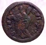 obverse: Zecche Italiane. Gubbio. Clemente XIII (1758-1769). Quattrino. Sant  Ubaldo .Peso 2,20 gr.Diametro 21,00 mm.AE. Bel BB.w