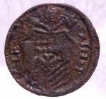 reverse: Zecche Italiane. Gubbio. Clemente XIII (1758-1769). Quattrino. Sant  Ubaldo .Peso 2,20 gr.Diametro 21,00 mm.AE. Bel BB.w