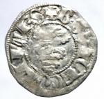 obverse: Zecche Italiane.Milano. Bernabò e Galeazzo Visconti (1354-1378). Sesino. D\ Croce patente R\Biscione.Cr. 5. AG. g. 1.09 BB+.