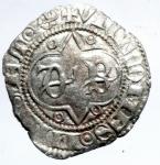 obverse: Zecche Italiane. Milano. Barnabò Visconti. 1378-1385. Sesino. AG. Cr. 5/A. Peso gr. 0,90. BB+.