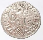 reverse: Zecche Italiane.Galeazzo II Visconti (1354-1378). Sesino . D\Scudo, elmo e cimiero /R Tizzone e secchie Crippa 3; MIR 109 (MI g. 0,80.BB+