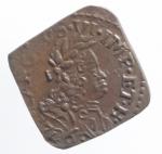 obverse: Zecche Italiane. Milano. Carlo III poi VI d Asburgo (1706-1740). Quattrino 1706. AE. SPL.Rame Rosso.ççç