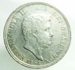 obverse: Zecche Italiane. Napoli. Ferdinando II di Borbone. 1830-1859. 120 grana o piastra 1841. AG. Ottimo BB.