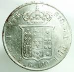 reverse: Zecche Italiane. Napoli. Ferdinando II. 1830-1859. 120 grana 1857. Ag. D/ Testa a destra. R/ Stemma coronato. Peso 27,40 gr. BB+.