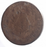 obverse: Zecche Italiane. Palermo. Ferdinando III (1759-1825). 10 grani 1815.Bordo Rigato.Molto Raro. AE. MB.ççç