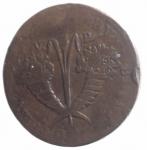 reverse: Zecche Italiane. Palermo. Ferdinando III (1759-1825). 10 grani 1815.Bordo Rigato.Molto Raro. AE. MB.ççç