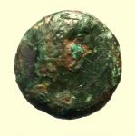 obverse: Mondo Greco. Sicilia. Kephaloidion. 344-336 a.C. AE : D/ Testa di Ercole a destra. R/ Pegasos a destra. CNS 2-5; SNG ANS Appendix 2, 1320 var. Diametro 14,16 mm. Peso 2,5 gr. BB.
