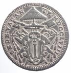 obverse: Zecche Italiane. Roma. Sede Vacante (1758). Quinto di scudo 1758. M.4. AG. BB.ççç