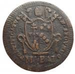 reverse: Zecche Italiane - Roma.Pio VII (1800-1823).Mezzo baiocco 1802.Pag. 86. Mont. 62.AE.qBB-BB