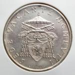 reverse: Zecche Italiane - Roma.Vaticano.Sede Vacante 1958. 500 lire senza accento. Mont. AG. FDC