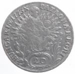 R/ Estere.Austria.Maria Teresa 1773.20 Svanziche.Ag.BB.gf