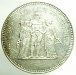 R/ Monete Straniere. Francia. 1979. 50 Franchi. AG. qFDC. R.§