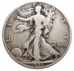 D/ Estere - USA. Half Dollar 1936. Ag. qBB